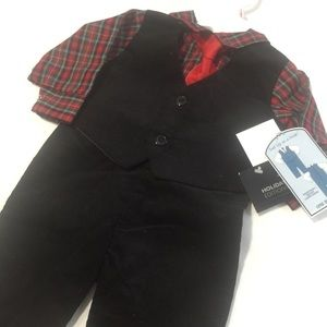 Infant Boys 6/9 months Holiday Corduroy Suit